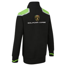 Load image into Gallery viewer, Lamborghini 2020 Kid's Squadra Corse Sweatshirt Black