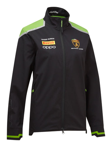 Lamborghini Squadra Corse Women's Team Softshell Black