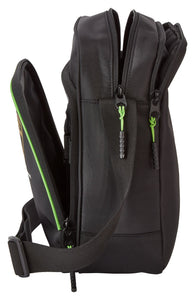 Lamborghini Squadra Corse Team Shoulder Bag Black