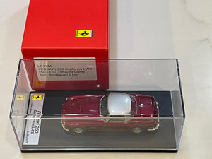 Looksmart Ferrari 250GT California LWB Closed 1959 Dark Red/Silver LS317A
