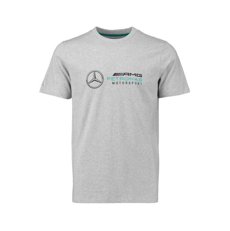 Mercedes AMG Petronas Motorsport Kid's Logo T-Shirt Grey