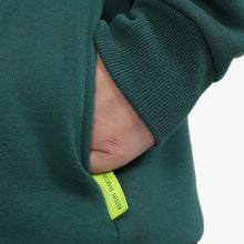 Load image into Gallery viewer, Aston Martin F1 Men's Logo Zip-Up Hooded Sweatshirt Green