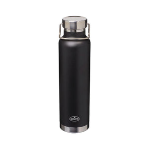 "Bugatti ""EB""/Macaron Stainless Steel Water Bottle Black"