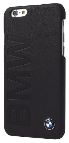 BMW Leather Phone Case for iPhone 6/6s Dark Gray