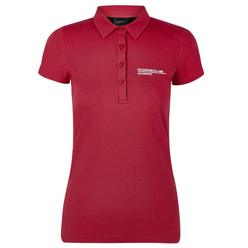Porsche Motorsport Women's Polo Red