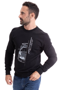 Lamborghini Men's Huracan Sweatshirt Black