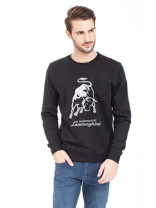 Lamborghini Men's Large Bull Sweatshirt Black