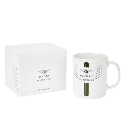 Bentley Motorsport Mug White