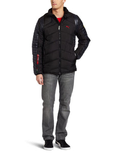 Ferrari Men's Padded Jacket  Black