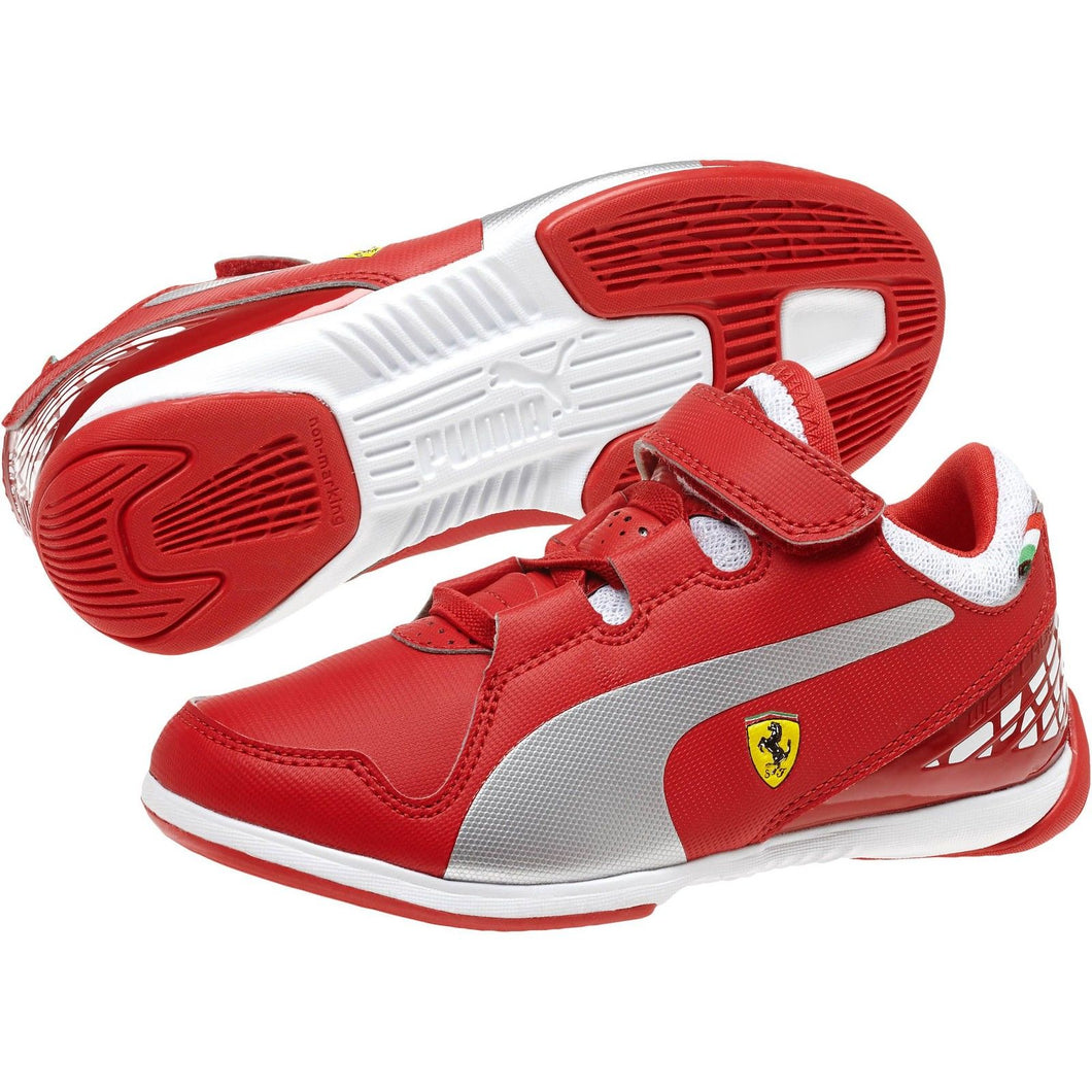 Ferrari Valorosso Hook-and-Loop Kid's Sneaker (Infant/Toddler) Red