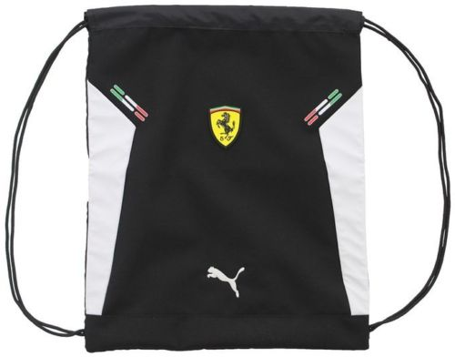 Ferrari Gym String Bag in Black