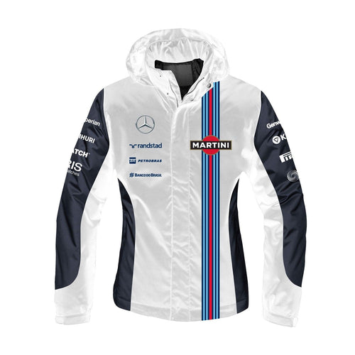 Williams Martini Racing Women's Team 2-In-1 Jacket White/Navy