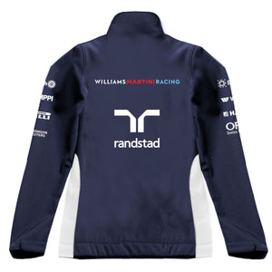 Williams Martini Racing Women's Team Softshell Track Jacket Navy