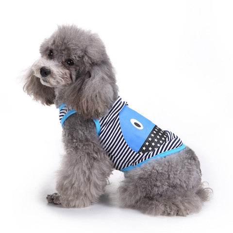dog clothes summer vest pet clothes