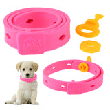 Adjustable Pets Flea Collars Dog Cats Anti Mosquito