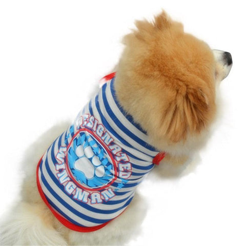 dog clothing clothes summer For Small Large Dog yorkie
