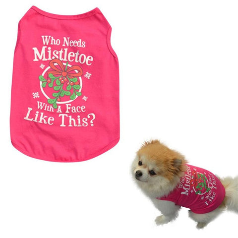 Dog Clothing Vest Summer Wear Dog Clothes
