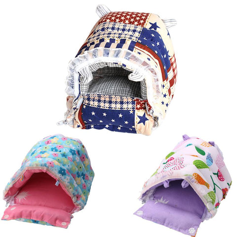 New S/M/L/XL Hedgehog Pet Hamster Mat Cage House
