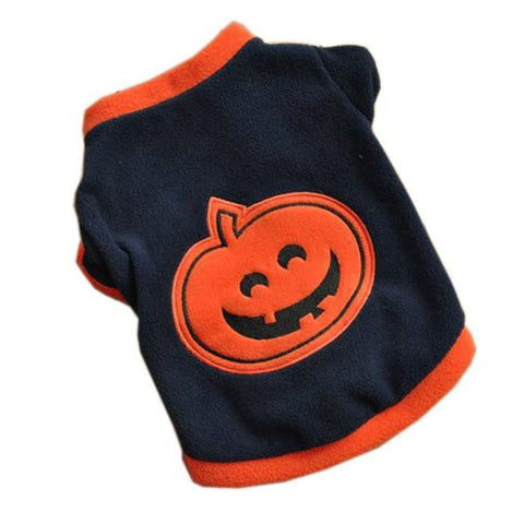 Halloween Pumpkin pet dog clothes chihuahua