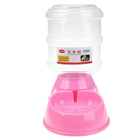 3.5L Dog Automatic Drinkers Pet Feeder Dog Bowls