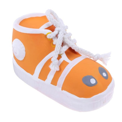 Latex Shoes Pet Dog Chew Toy Bite-Resistant  Sound Toys