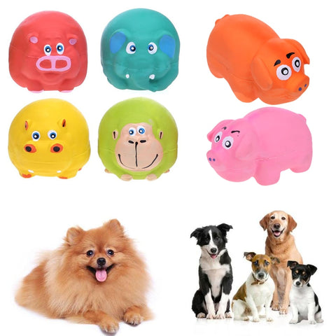 Dog Toys Latex Animal Sound Squeaky Toys for Dog