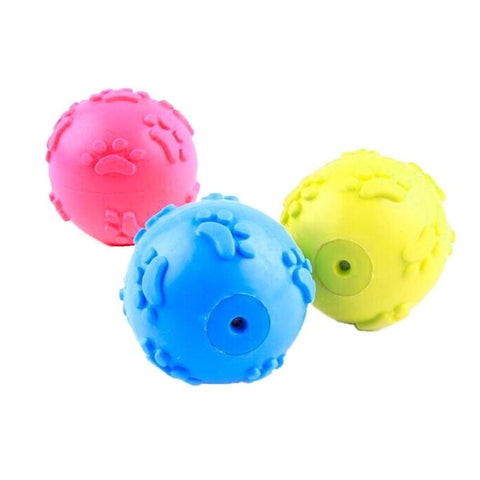 Color random footprint Ball Tpr Toys
