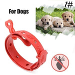 Red Plastic Pet Puppy Dog Collar Anti Flea Ticks Mosquitoes Elimination Flea Pets Cat Collar