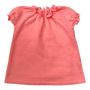 SMOCK DRESS - Bubble Gum