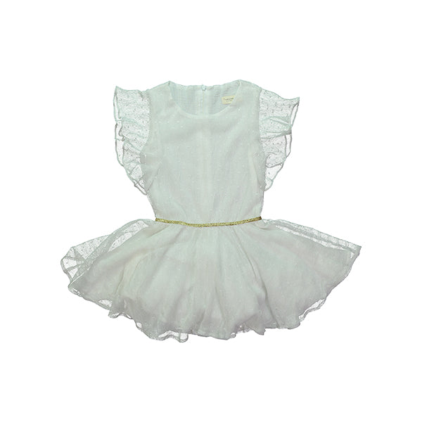 Tigress Dress - White dentelle