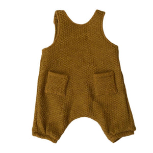 SALOPETTE - Knit Yellow