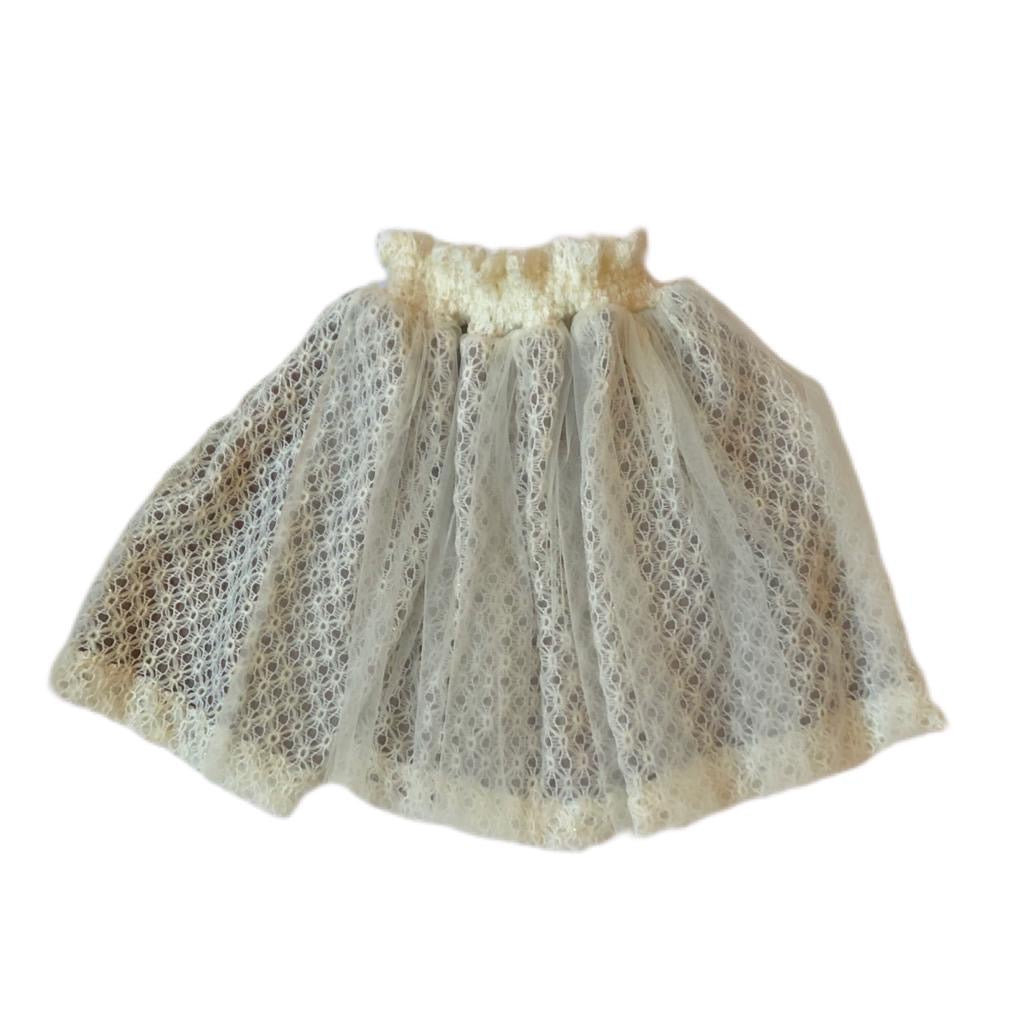 SMOCK SKIRT - Lacery White Tutu