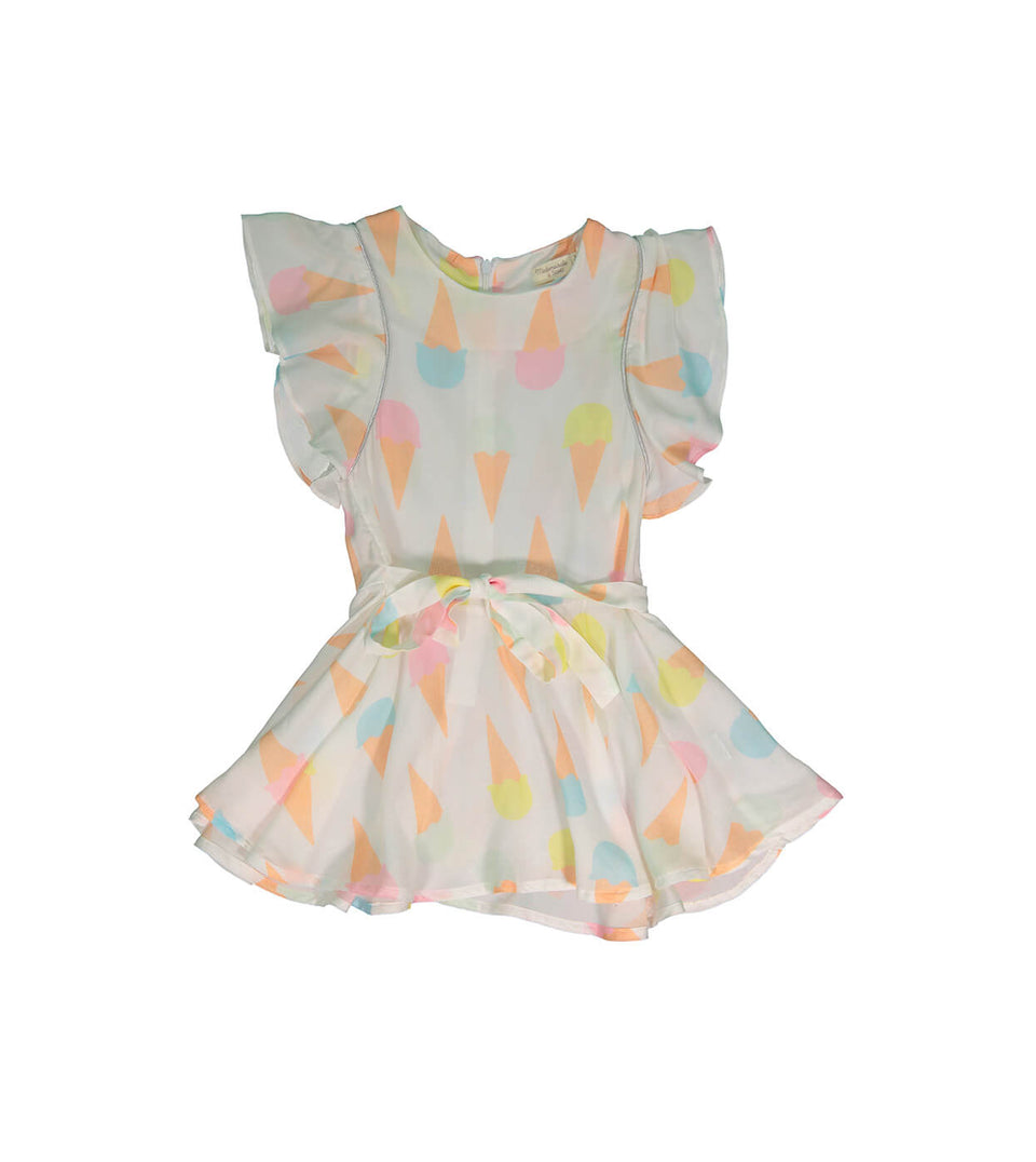 Tigress Dress for girls - Ice Cream design