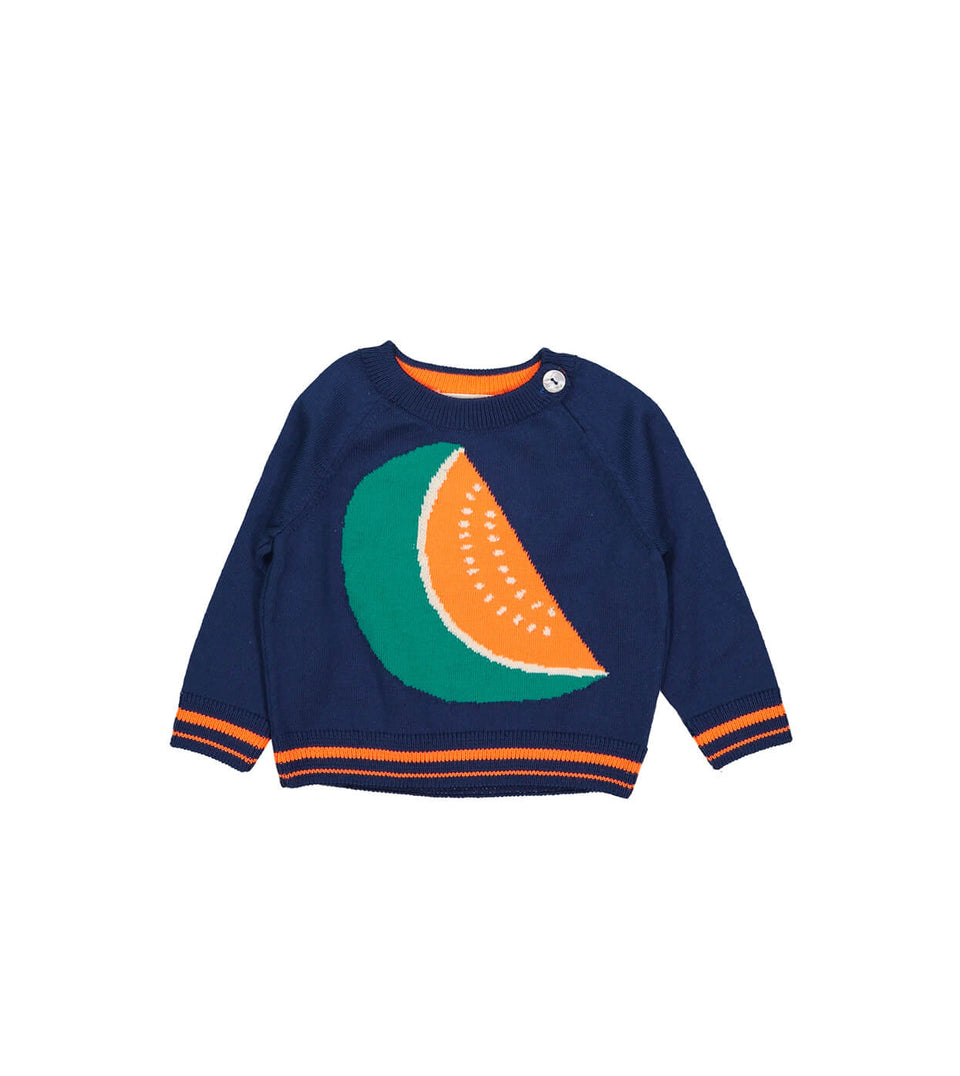 Pepene Sweater for boys and babies - Navy design