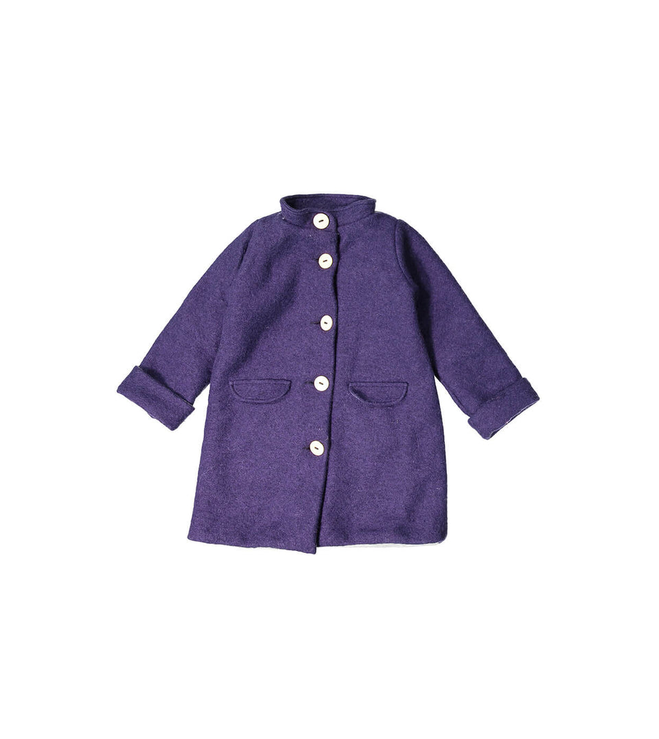 Soho Coat - Deep Purple