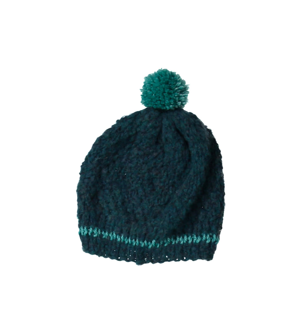 Teal Hat - Teal Stripes