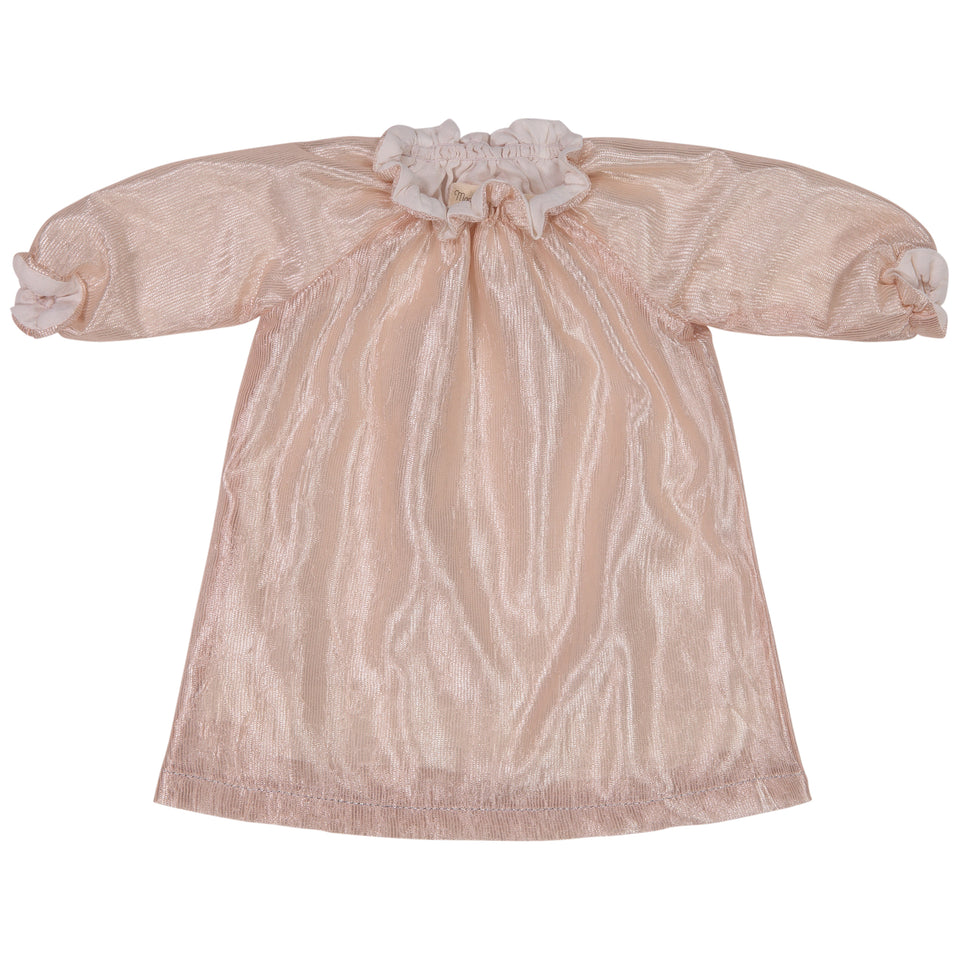 Smock Dress Glossy Peach