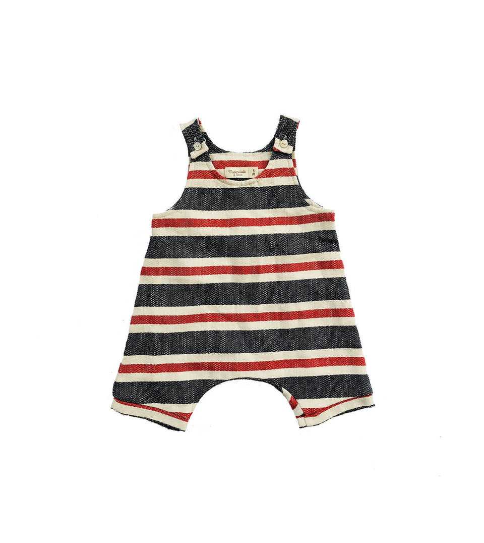 Salopette Jumper - Lacery Red - Front