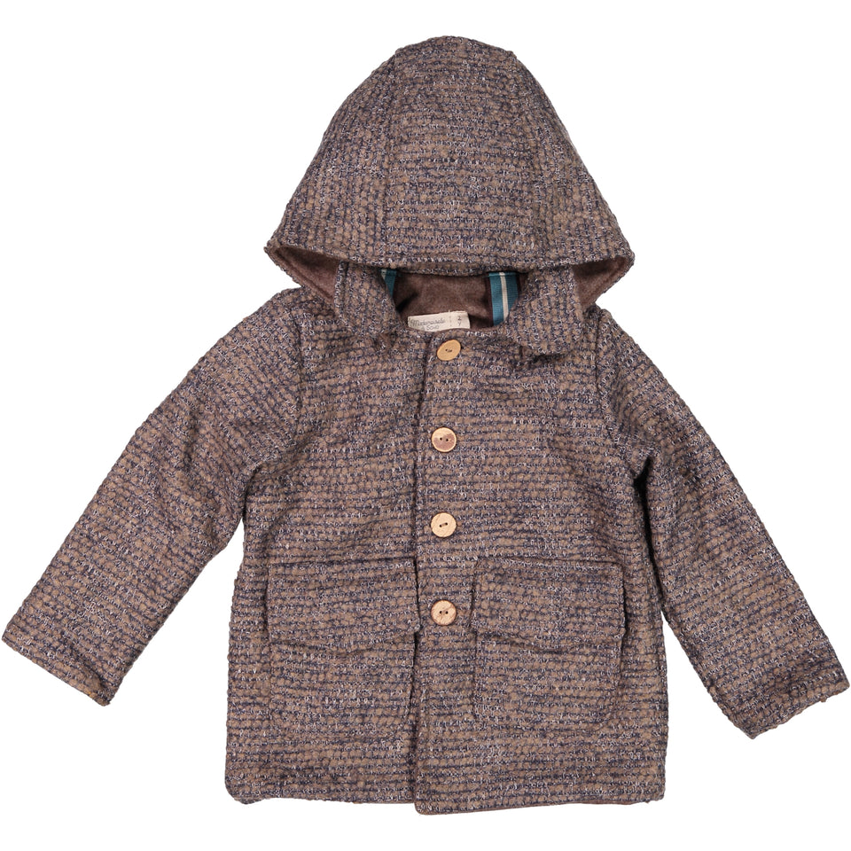 Theo Coat -  Tweed