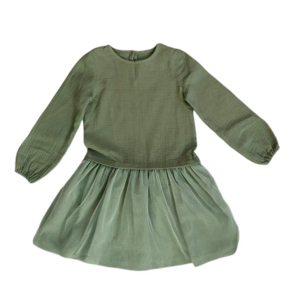 DUO DRESS - Pistachio