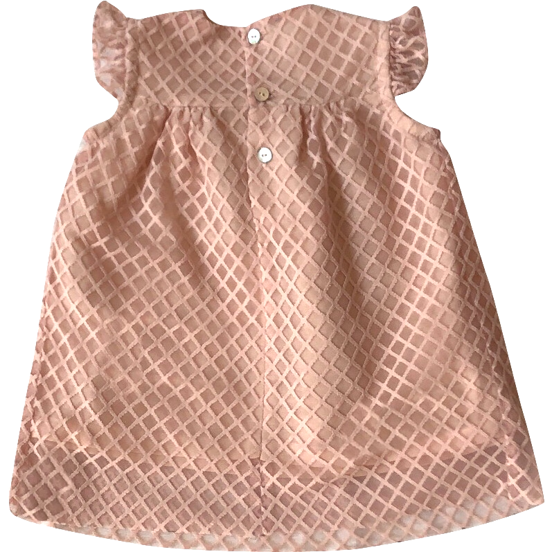 DOROTHY DRESS - Pink Tweed