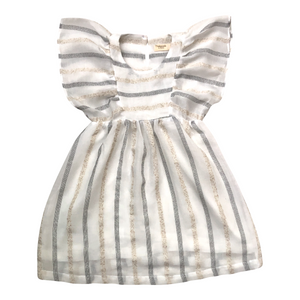 RENÉE DRESS - Cream Stripes