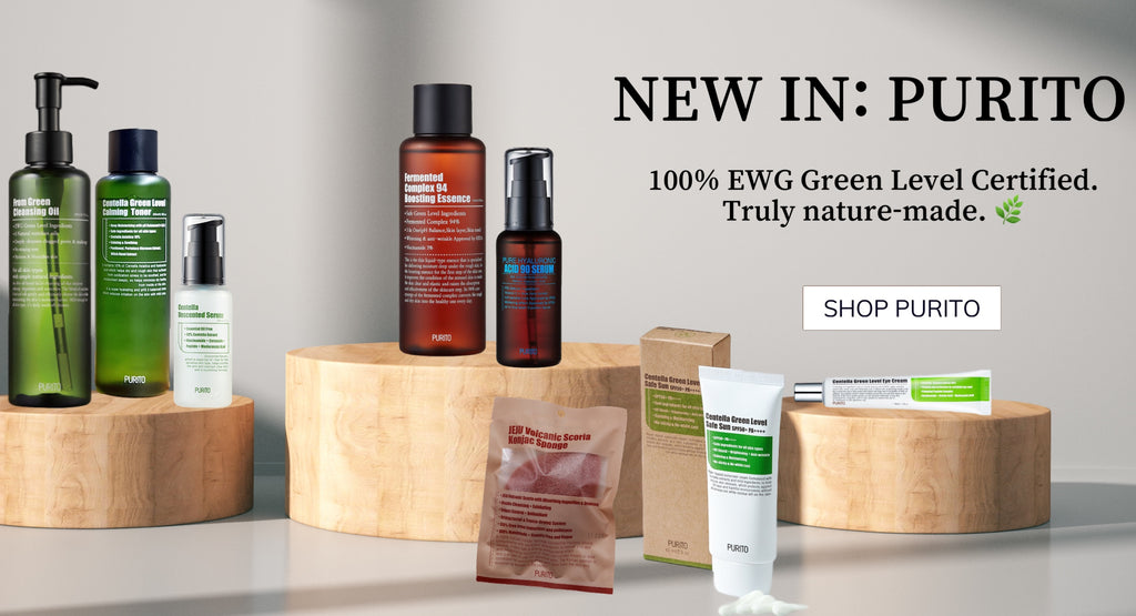 Shop Purito 100% EWG green level certified at K Beauty UK