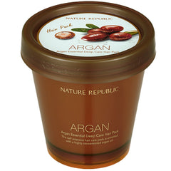 nature republic argan deep care hair pack Photo of product | click to purchase from K Beauty UK