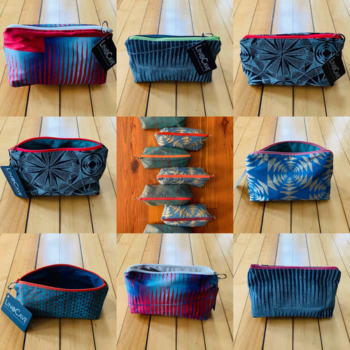 Design, Print and Sew Your Own Lined Zipper Pouch Virtual Workshop via Zoom
