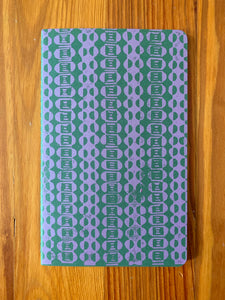 Printed Moleskine Cahier Journal, Medium, Ruled, Green