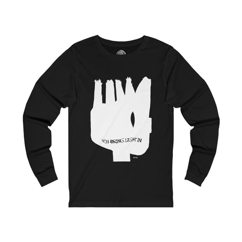 LIGHT IN Unisex Jersey Long Sleeve T-Shirt - nistka + me