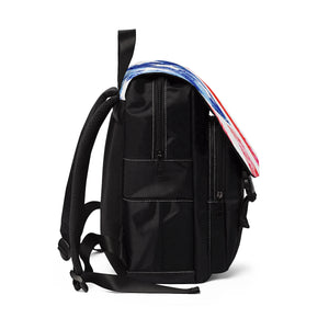 AMERIKA Unisex Casual Shoulder Backpack - nistka + me