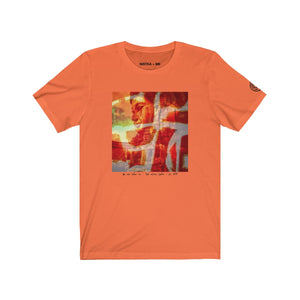 ORANGE ZEN Unisex Jersey Short Sleeve T-Shirt - nistka + me
