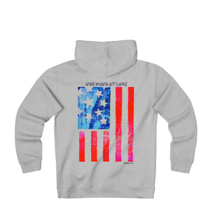 LOVE VISION Unisex Heavyweight Fleece Hoodie - nistka + me